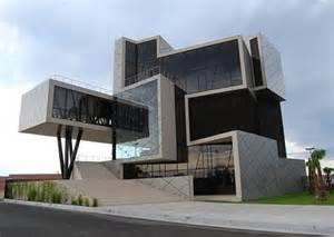 Modern House Building arquitetura futurista