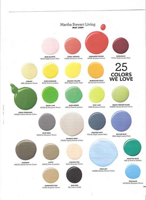 paint colors martha stewart living may 2009 flickr photo