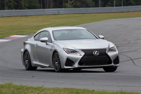 lexus rc f silver 2015 lexus rc f reviews and rating motor trend