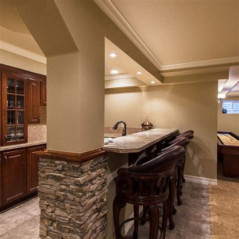 beautiful ways  remodeling basements interior vogue