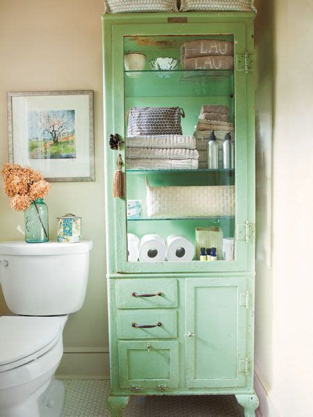 pale mint green vintage bathroom cabinet bath