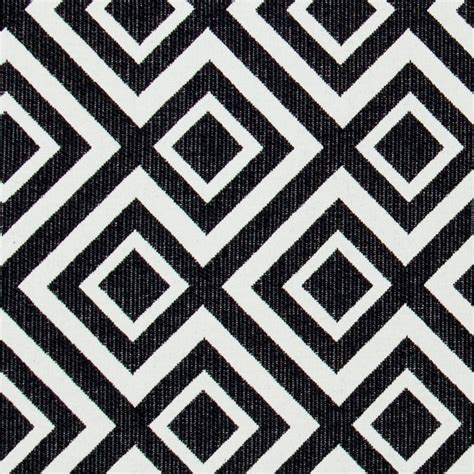 black and white upholstery black white geometric upholstery fabric heavyweight woven