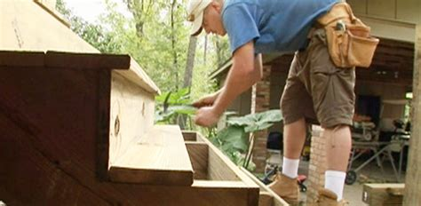 Painting Kitchen Cabinets Green - how to build wood steps on a deck today s homeowner