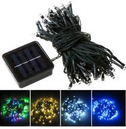 solar outdoor tree lights mono crystalline solar led string lights