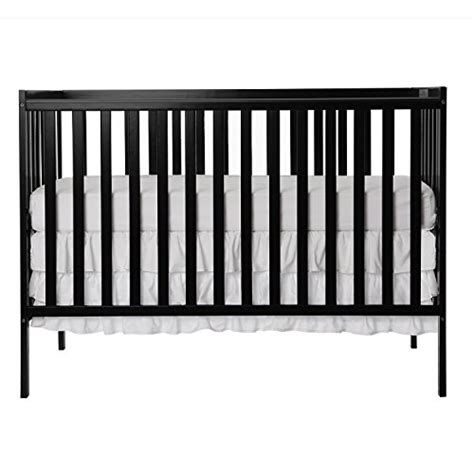 Dream On Me Synergy 5 In 1 Convertible Crib Black Baby Black Baby Cribs On Sale