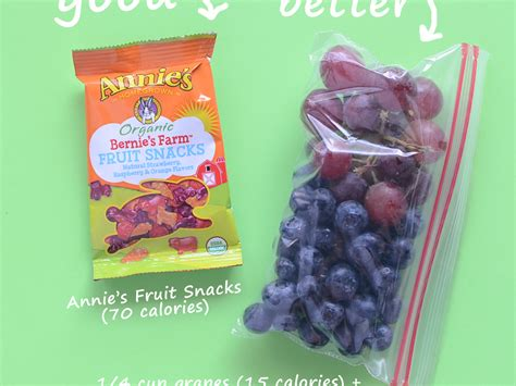 fruit 60 calories make your own 100 calorie snack packs