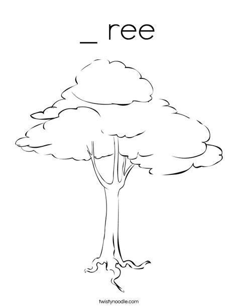 jungle tree coloring page tree from jungle free colouring pages