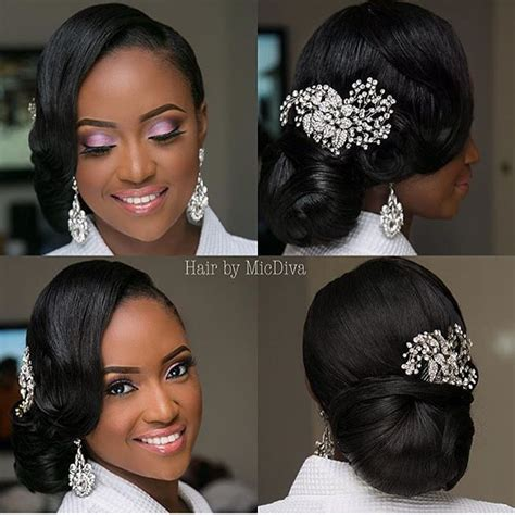Black Wedding Hairstyles For Medium Hair by 25 Best Ideas About Black Hairstyles Updo On