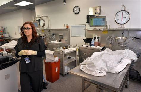 Autopsy Assistant by The Badge O C Coroner S Office The Compassionate Work Of A Forensic Assistant