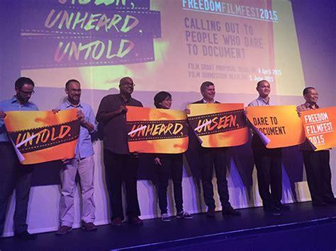 freedom film festival malaysia cinema online brunei news freedom film festival 2015 is