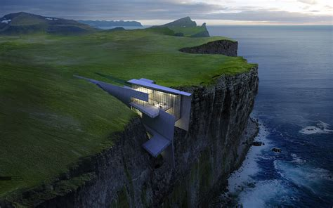 Of A cliff retreat finale image visualizing architecture