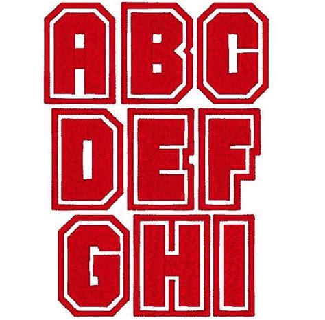 varsity font typography