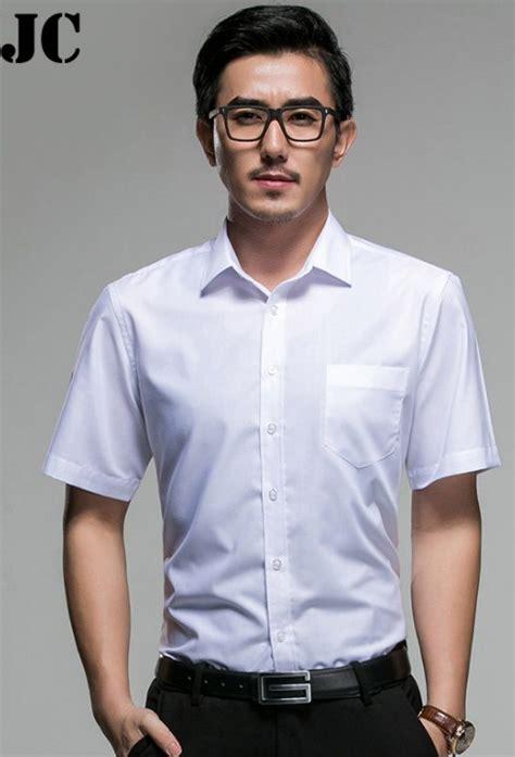 Kemeja Lengan Pendek Warna Putih 13 model kemeja putih pria bikin til ganteng baju terbaru