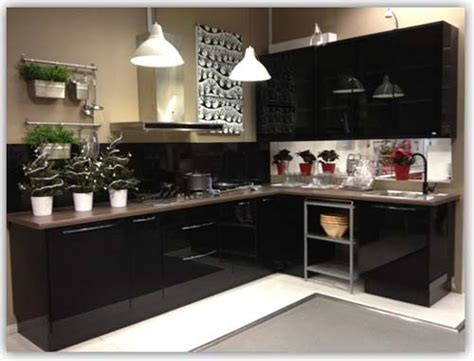 kitchen cabinets l shaped black colour l shaped kitchen cabinet