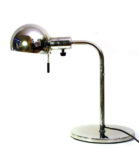 2 Bulb Table L by 2 Metalarte Vintage Chrome Table Ls