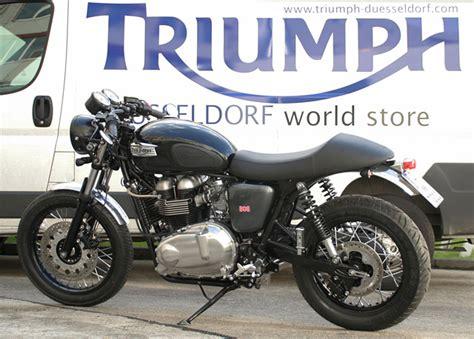 Motorrad Heckumbau Sterreich by Triumph Thruxton Sport Modellnews