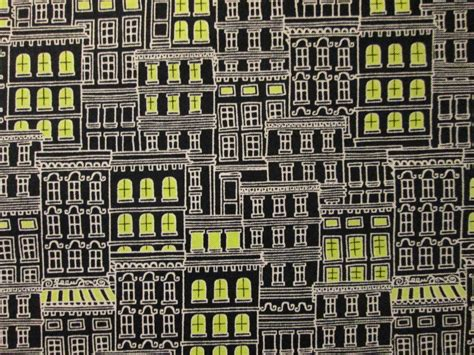 Quilt Stores Nyc by Nyc New York City Buildings Lights Grey Cotton Fabric Fq