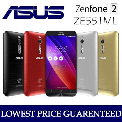Handphone Asus Zenfone 5 Lte Qoo10 Asus Zenfone 2 Ze551ml 5 5inch Smart Phone 4g Lte Dual Sim Handpho Mobile Devices