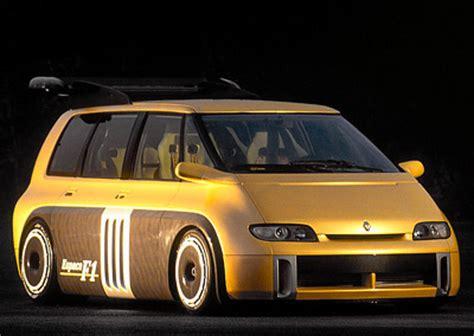 renault f1 van renaut espace f1 concept cars diseno art