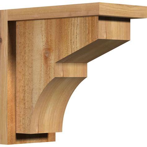 Rustic Wood Corbels ekena millwork cormon01 monterey w backplate rustic timber wood corbel corrcormon01