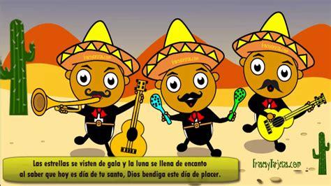 imagenes de feliz cumpleaños chistosos feliz cumplea 241 os las ma 241 anitas chistosas con mariachis