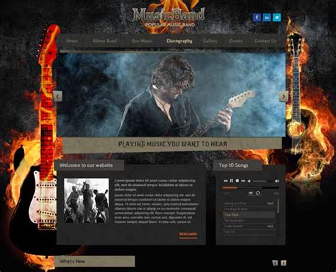 bootstrap themes free band simple bootstrap templates gridgum part 3