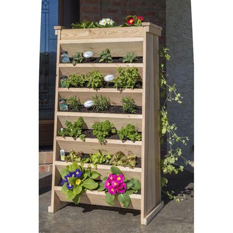 yardcraft cedar vertical garden reviews wayfair