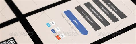 business card sign up template free geeky business card template for developers