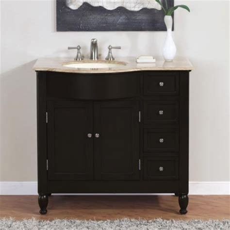 38 inch bathroom vanity 38 inch modern single bathroom vanity with travertine and