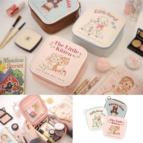 Doll Mate Cosmetic Pouch afrocat paper doll mate better pouch s cosmetic