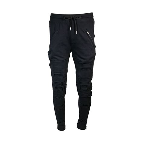 Jogger Laser s ft slub laser cut with zippers joggers joggers and laser cutting