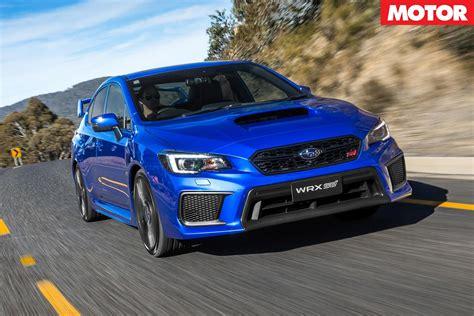 wrx sti 2018 2018 subaru wrx sti australian pricing announced motor