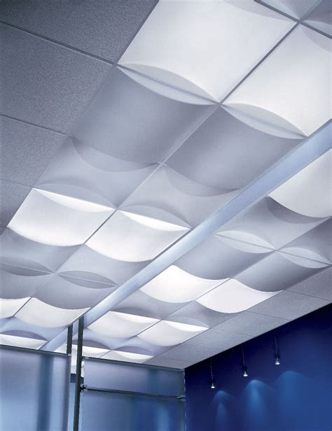 Ceiling Tile Light Usg Billo 3 Dimensional Panels 3 D Ceiling Panels
