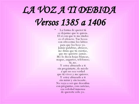 la voz a ti 8437612950 poemas de pedro salinas mireia bou roca e4 a
