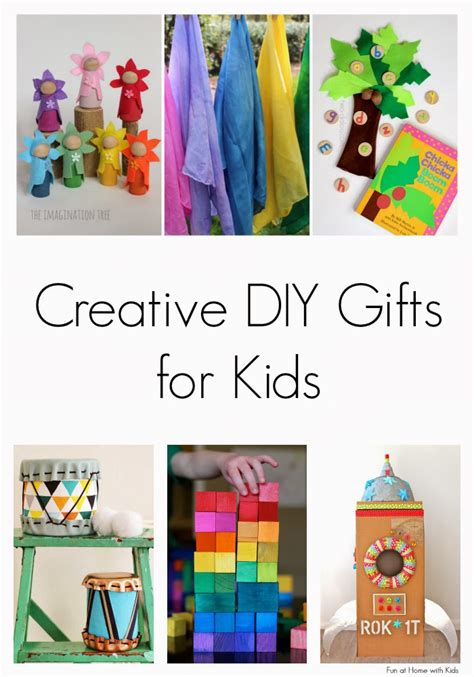 Handmade Gifts For Children - creative diy gifts for