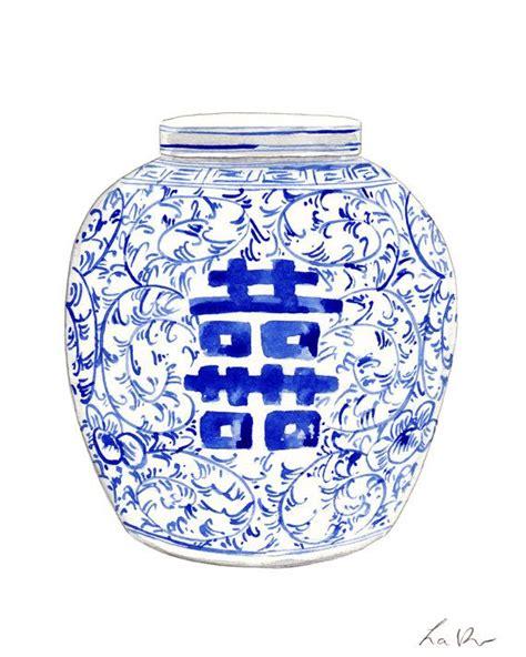 blue pattern ginger jar blue and white ginger jar art 8 ginger jar painting