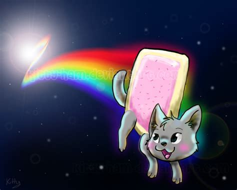 Red Lipstick: Game: Nyan Nyan Cat!