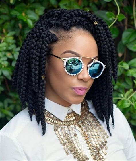 short boxed braids styles 30 short box braids hairstyles for chic protective looks