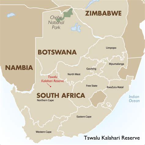 kalahari desert map africa map kalahari desert