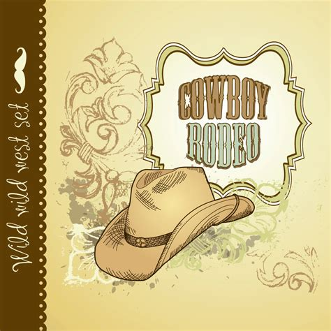 Western Birthday Cards Items Similar To Cowboy Hand Drawn Wild West Card