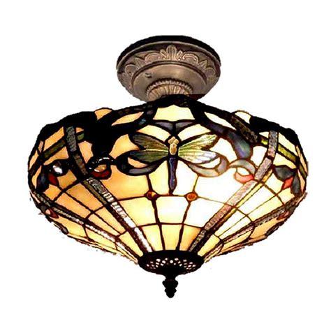 dale tiffany ceiling fan dale tiffany cabrini 2 light antique bronze semi flush