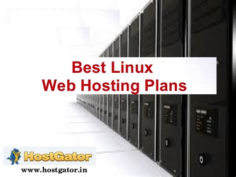 best linux hosting best linux web hosting plans