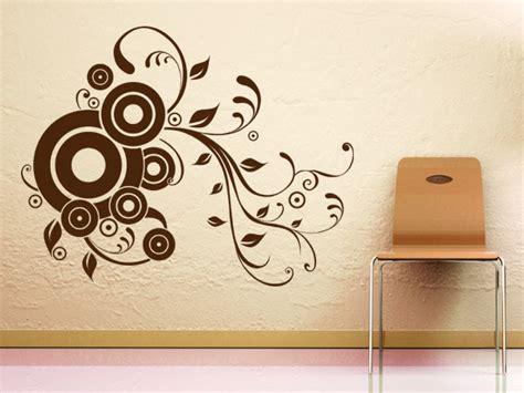 Wandgestaltung Mit Kreisen by Wandtattoo Ornamente Wandgestaltung