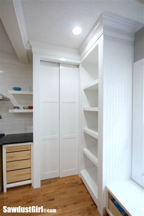 hidden entrance  pantry  pocket doors sawdust girl