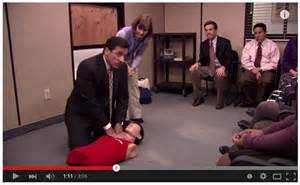 the office tv show epic fail cpr