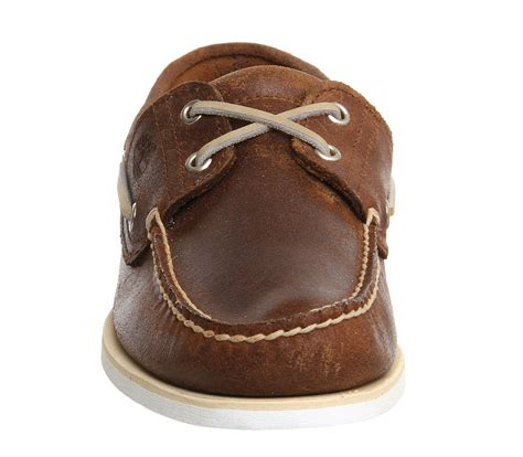 timberland icon boat shoes timberland icon boat shoe brown oiled leather casual