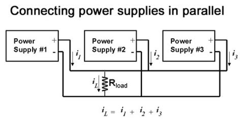 power through resistors in parallel learn to connect power supplies in parallel for higher