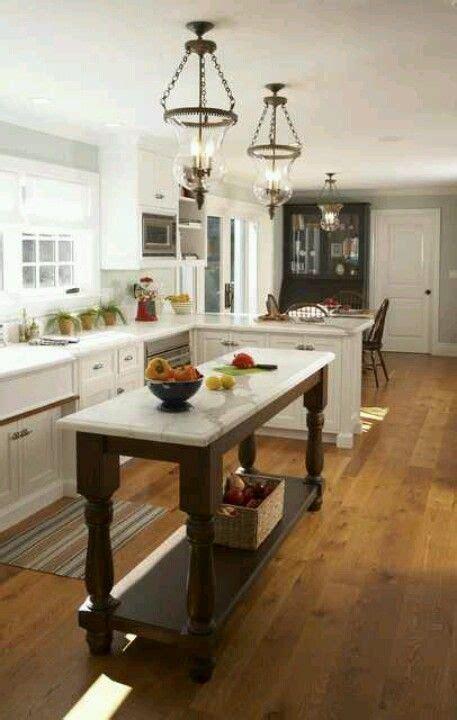 narrow kitchen with island 25 best ideas about narrow kitchen island on