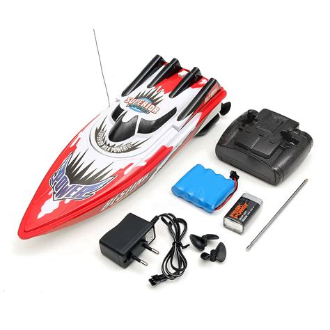 Rc Speed green plastic durable remote motor high speed racing rc boat sale