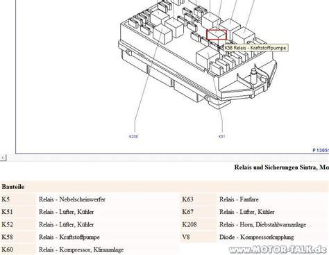 opel sintra 2 2 relais k58 sintra 2 2 dti dieselpumpe opel zafira a